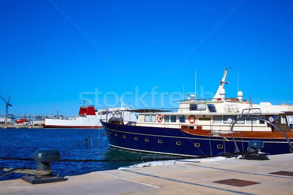 Marina portu Hiszpania morze Śródziemne morza plaży Zdjęcia stock © lunamarina