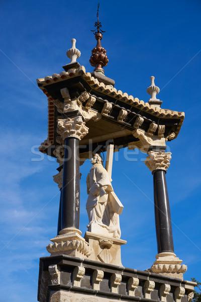 Walencja real królewski most Hiszpania 16 Zdjęcia stock © lunamarina