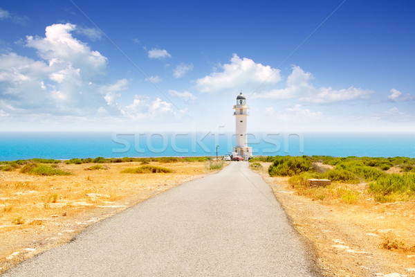 Barbaria cape lighthouse in Formentera Stock photo © lunamarina