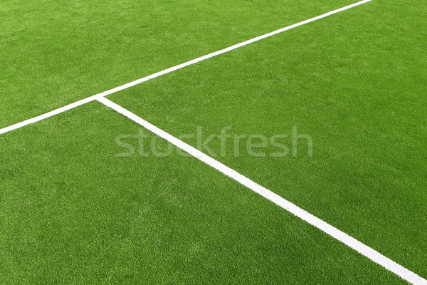 Stock photo: paddle tennis green grass camp field texture