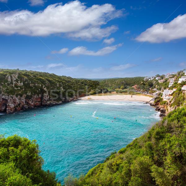 Hordár gyönyörű tengerpart szigetek Spanyolország természet Stock fotó © lunamarina