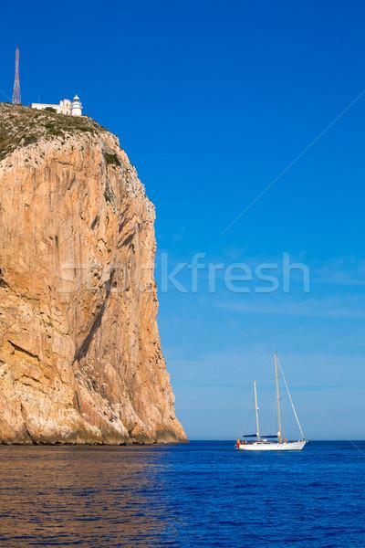 Hiszpania morze Śródziemne morza górskich lata ocean Zdjęcia stock © lunamarina