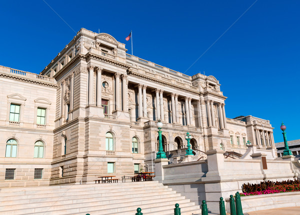 Library of Congress Thomas Jefferson in Washington Stock photo © lunamarina
