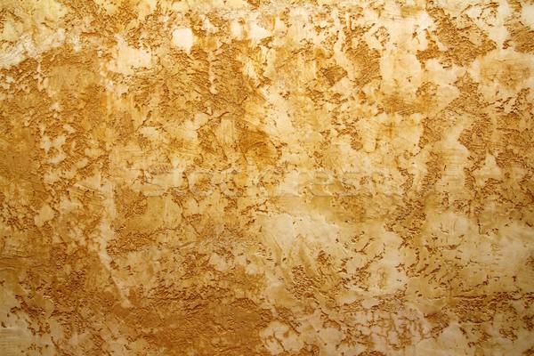 ocher yellow wall texture grunge background Stock photo © lunamarina