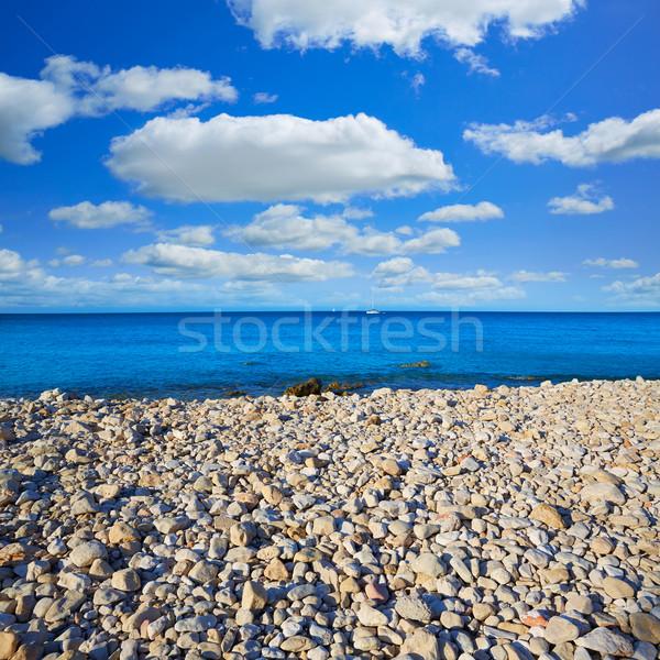 Plaży morze Śródziemne Hiszpania wody słońce świetle Zdjęcia stock © lunamarina