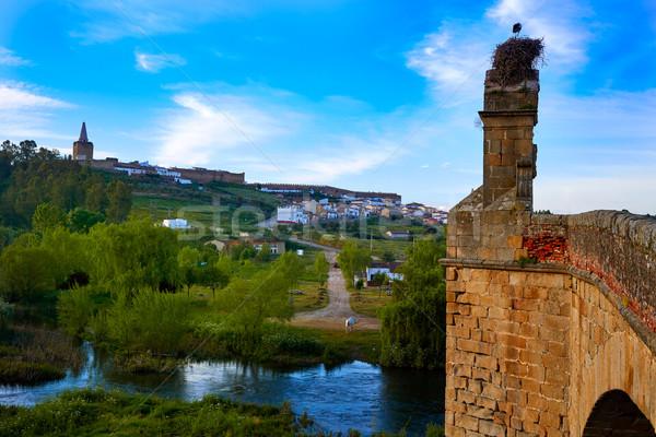 Aldeia ponte Espanha la natureza campo Foto stock © lunamarina