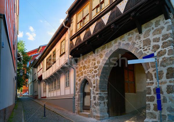 Nordhausen street in Harz Thuringia  Stock photo © lunamarina