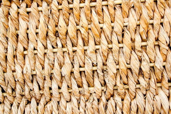 basketry traditional texture of twisted reeds Stock photo © lunamarina