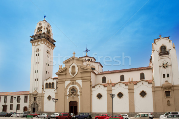 Basilica de Candelaria in Tenerife at Canary Islands Stock photo © lunamarina