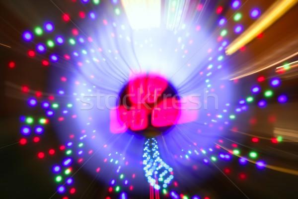 Jogos de azar cassino zoom turva luzes borrão Foto stock © lunamarina