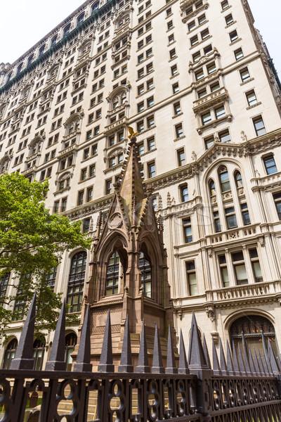 Trinity Church Manhattan New York City Stock photo © lunamarina