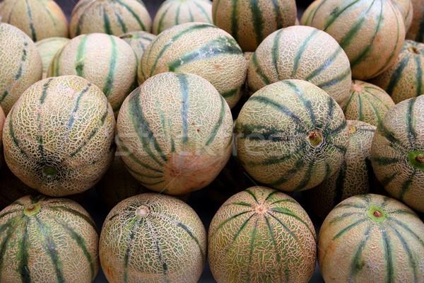 Cantaloupe rock melon muskmelon spanspek Stock photo © lunamarina