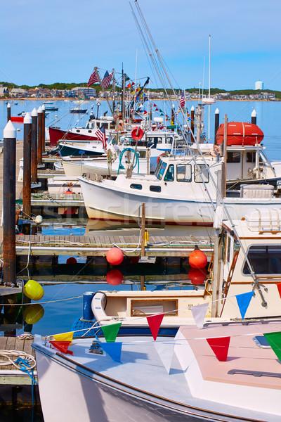 Cape cod liman Massachusetts ABD plaj su Stok fotoğraf © lunamarina