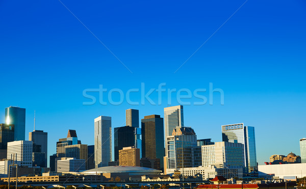 Хьюстон центра Skyline Техас город США Сток-фото © lunamarina