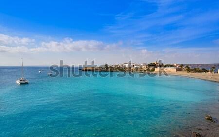 Els Pujols beach in Formentera Stock photo © lunamarina