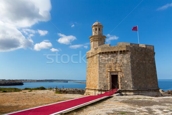épület város kék utazás zászló építészet Stock fotó © lunamarina