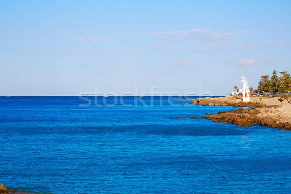 Denia beach Las Rotas in summer at Alicante Stock photo © lunamarina