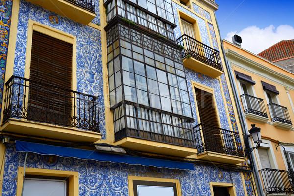 Caceres San Juan square Extremadura Spain Stock photo © lunamarina
