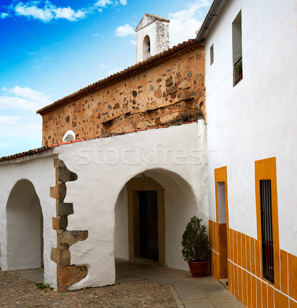 Caceres juderia Ermita saint Antonio in Spain Stock photo © lunamarina