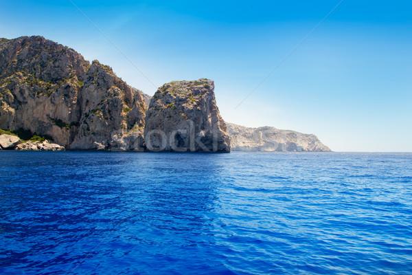 Stock photo: Ibiza Cap de Jueus near Es Vedra in Balearic