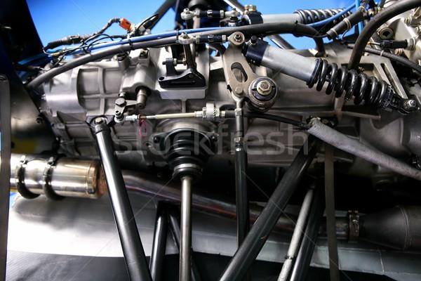 Formula one car engine detail  Stock photo © lunamarina