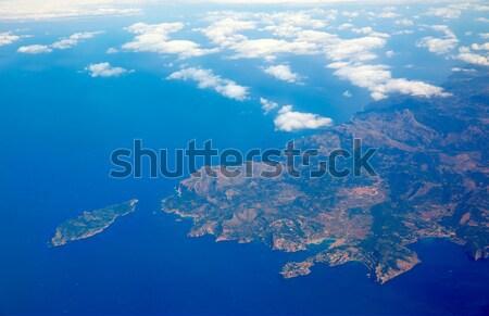Aerial view of Majorca north of Malorca balearic Stock photo © lunamarina
