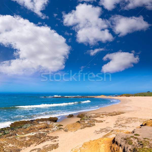 Калифорния боб полый пляж шоссе маршрут Сток-фото © lunamarina