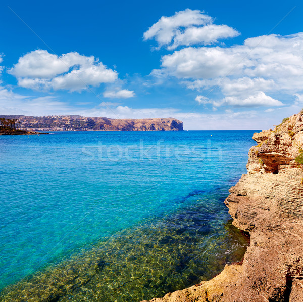 javea Xabia and San Antonio Cape in Alicante Stock photo © lunamarina