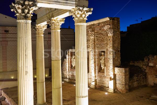 Stok fotoğraf: Roma · ören · İspanya · Bina · şehir