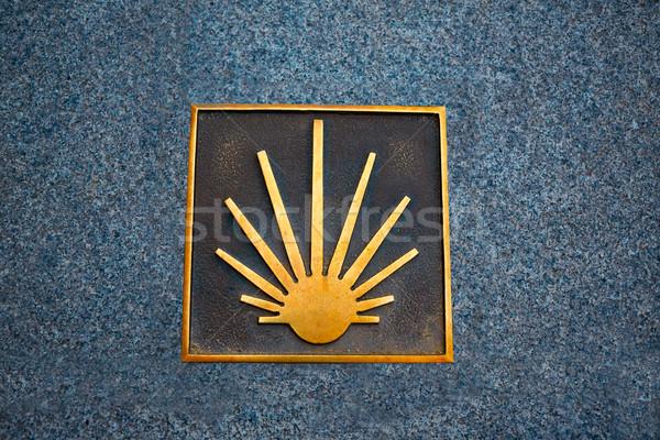 Saint James Way sign in Salamanca Spain Stock photo © lunamarina