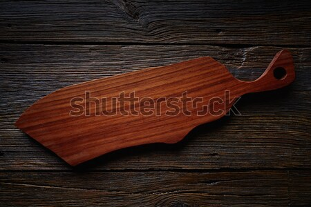 Artisan made wooden board from Mexico Stock photo © lunamarina