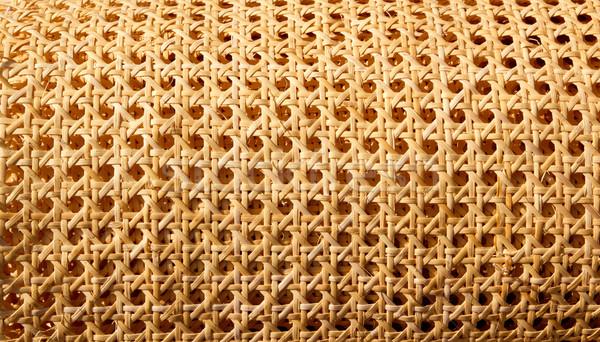 Enea grid handcraft for chair seats Stock photo © lunamarina