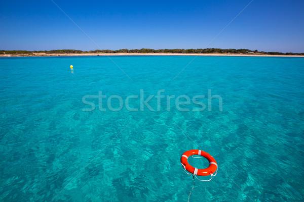 Boei zee landschap oceaan reizen Stockfoto © lunamarina