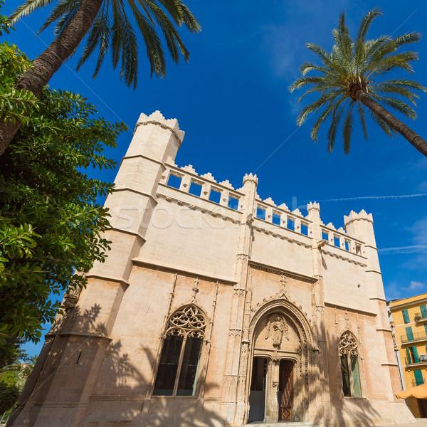 Mallorca gótico arquitetura Espanha edifício Foto stock © lunamarina