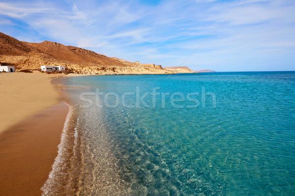 Almeria Cabo de Gata Playazo Rodalquilar beach Stock photo © lunamarina