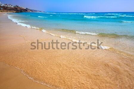 Morro Jable beach Fuerteventura Canary Islands Stock photo © lunamarina