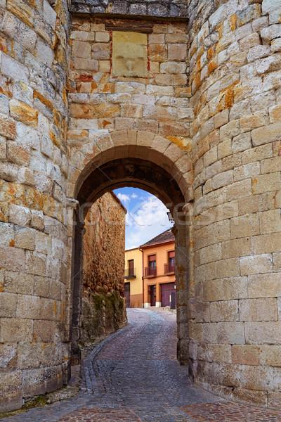 Puerta España manera ciudad Foto stock © lunamarina