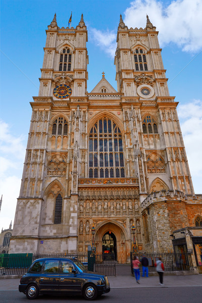 London Westminster Abbey facade Stock photo © lunamarina