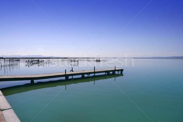 Albufera Valencia lake wetlands mediterranean Spain Stock photo © lunamarina