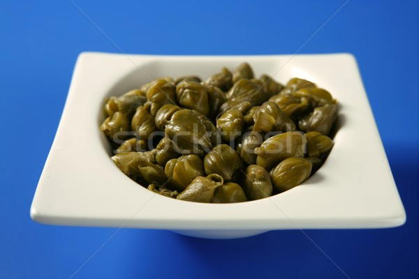 Capers with vinegar snack Stock photo © lunamarina