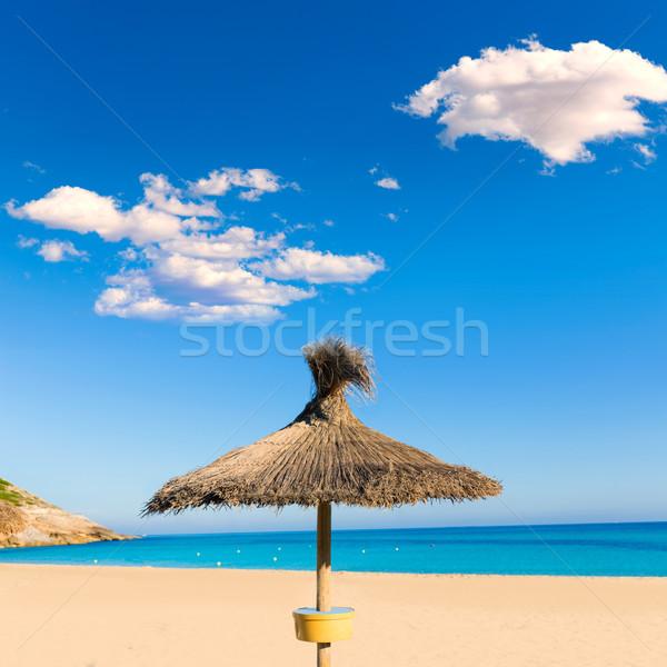 Praia mallorca Espanha paisagem mar Foto stock © lunamarina