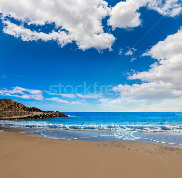Cullera Platja del Far beach Playa del Faro Valencia Stock photo © lunamarina