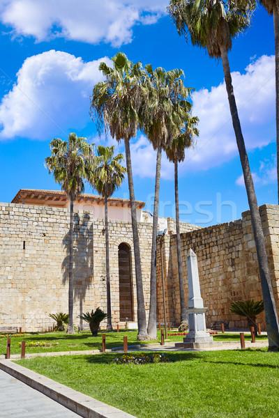 Merida in Spain Alcazaba in Extremadura Stock photo © lunamarina