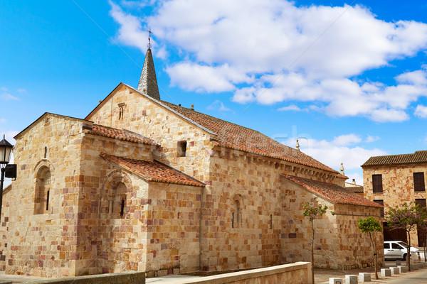 Zamora San Cipriano church in Spain Stock photo © lunamarina