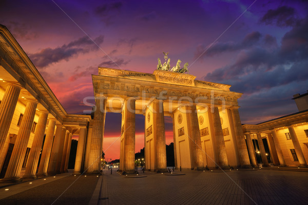 Berlin Brandenburg Gate Brandenburger Tor Stock photo © lunamarina