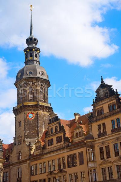 Turm Deutschland Himmel Gebäude Sommer Stock foto © lunamarina