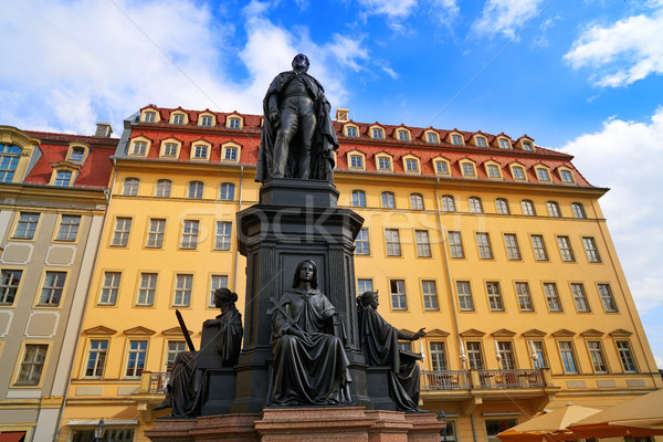 Friedrich August II Sachsen in Dresden Germany Stock photo © lunamarina