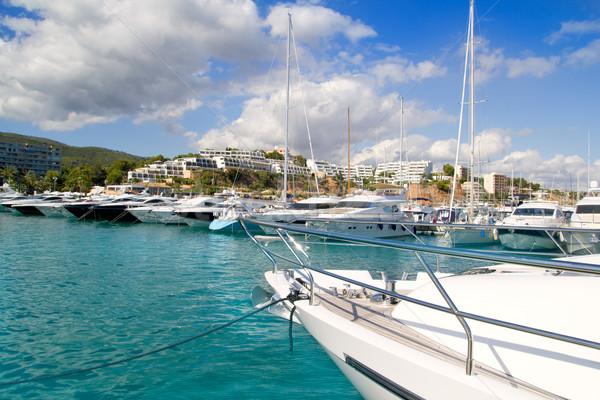 Foto stock: Luxo · ilha · mar · verão · oceano · azul