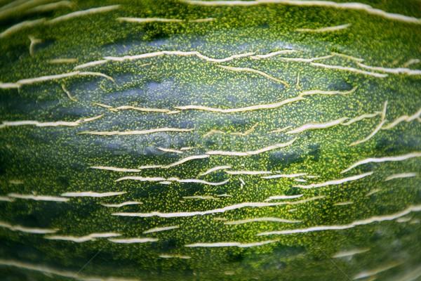 Green melon fruit skin macro texture Stock photo © lunamarina