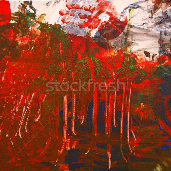 Digital manipulation, paint colored backgrounds Stock photo © lunamarina